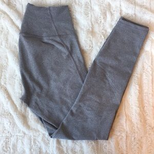Fabletics high waisted solid heathered 7/8 legging
